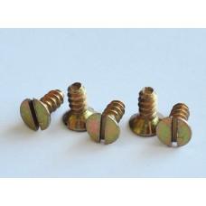 ОСТ 1 31567-80 Винты самонарезающие с потайной головкой (угол 90 градусов) и прямым шлицем